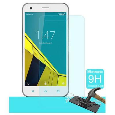 Microsonic Vodafone Smart 6 Temperli Cam Ekran Koruyucu Kırılmaz Film Ekran Koruyucu Film