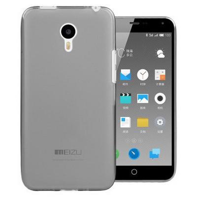 Microsonic Meizu M1 Note Kılıf Transparent Soft Siyah Cep Telefonu Kılıfı