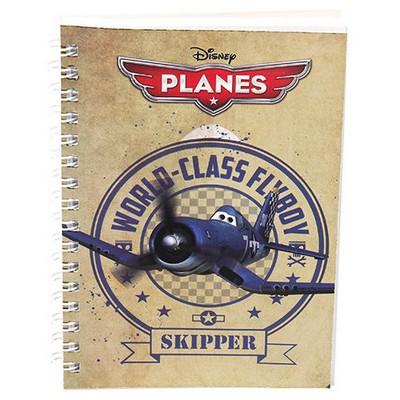 Keskin Color Planes A6 80yp Spiralli Metalize Bloknot Defter