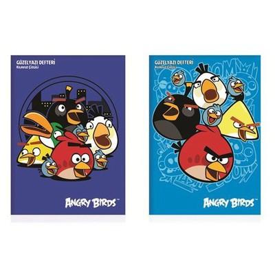 Keskin Color Angry Birds A4 40yp Güzel Yazı i Defter