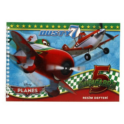 Keskin Color Planes 17x25 15 Yp Spiralli Resim Defteri