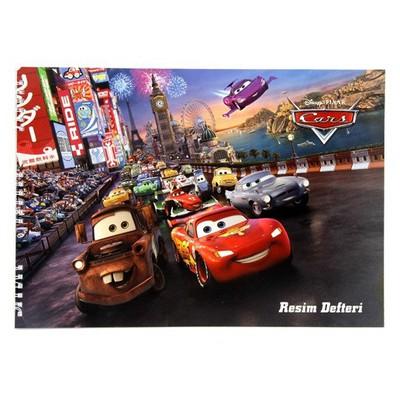 Keskin Color Cars 25x35 15 Yp Spiralli Resim i Defter