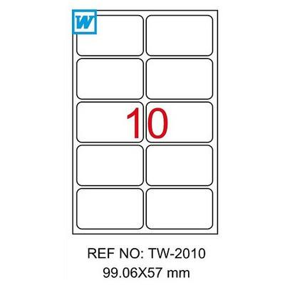Tanex Yazıcı i 99x57 mm 1000 Adet Model TW-2010 Etiket