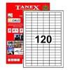 Tanex Yazıcı i 31x14 mm 12.000 Adet Model TW-2120 Etiket