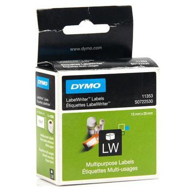 "Dymo LW Çok Amaçlı  1000""li 24x12 mm (11353) Etiket"