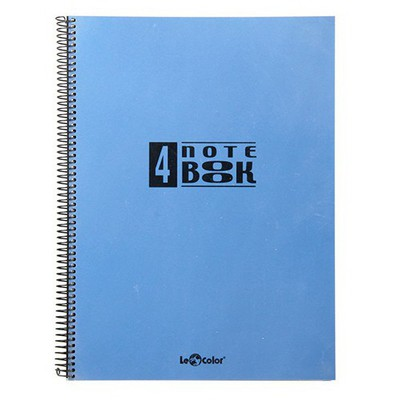 Le Color 4 Notebook A4 100 Yaprak Çizgili