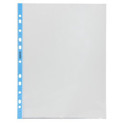 Noki Poşet Dosya Crystal Mavi 100'lü Paket
