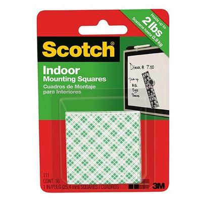 Scotch Çift Taraflı Bant Köpük 2.5 Cm X 2.5 Cm 16'lı Model 111 Paketleme Malzemesi