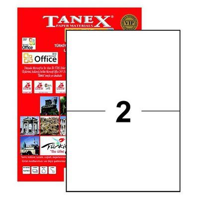 Tanex Yazıcı Etiketi 210x148.5 Mm 200 Adet Model Tw-2102