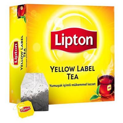 Lipton Yellow Label Bardak  100 Adet Poşet Çay