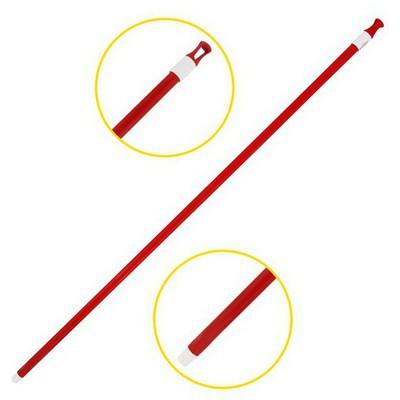 Uctem-Plas Sap Zemin Temizliği Metal Kırmızı 120 cm Mop ve Aparatları