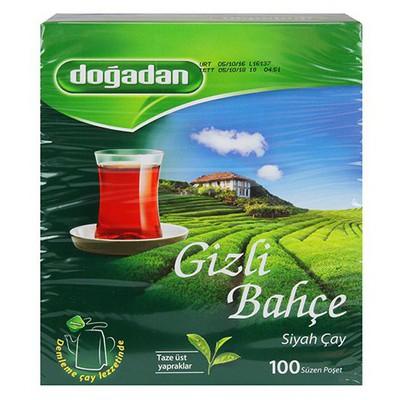 Dogadan Gizli Bahçe Poşet Çay 100 Adet
