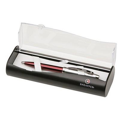 Sheaffer 9307-2 Kırmızı Yarı Krom Tükenmez  (100 Serisi) Kalem