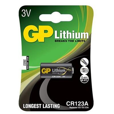 GP Cr123a Lityum Pil 3v Pil / Şarj Cihazı