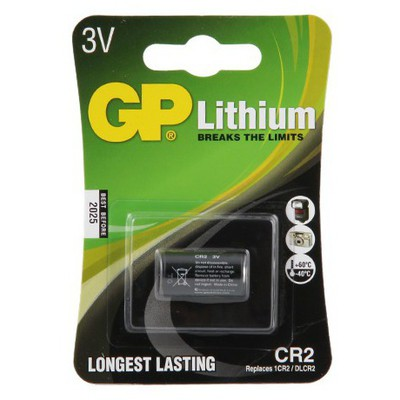 GP Pil 3v Lithium Model Cr2 Pil / Şarj Cihazı