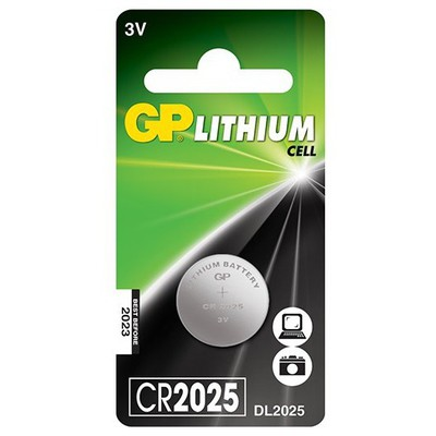 GP Cr2025 Lithium Cell Pil 3v Pil / Şarj Cihazı