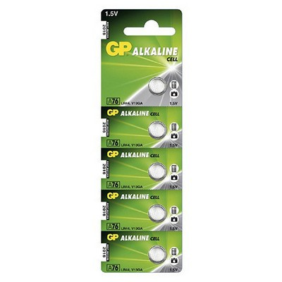 GP Pil Alkaline Cell 1,5v 5 Adet Model A76 Pil / Şarj Cihazı