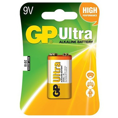 GP Ultra Alkaline Pil 9v Tekli Pil / Şarj Cihazı