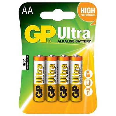 GP Ultra Alkalin Aa Pil 4 Adet Pil / Şarj Cihazı