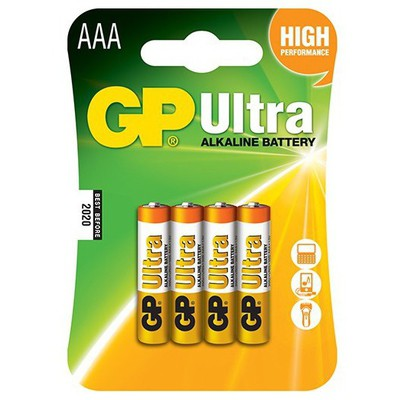 GP Ultra Alkalin AAA Pil 4 Adet Pil / Şarj Cihazı