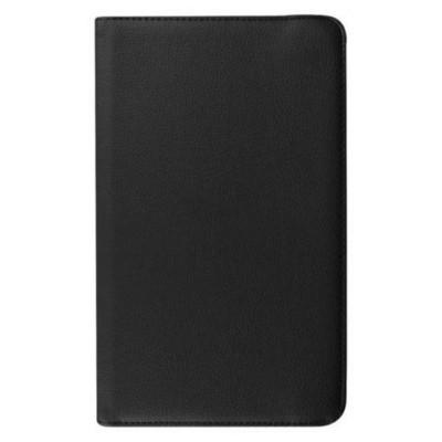 Microsonic 360 Rotating Stand Deri Samsung Galaxy Tab E 9.6'' T560 Kılıf Siyah Tablet Kılıfı