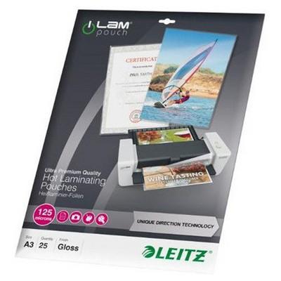 Leitz A3 125 Micron Laminasyon Poşeti 25'li (7489)