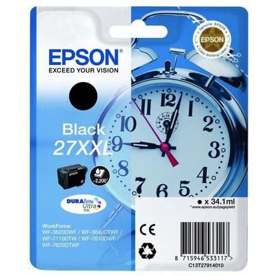 Epson 27XXL T2791 Siyah Kartuş