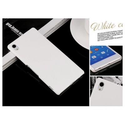 Microsonic Premium Slim Kılıf Sony Xperia Z3+ Plus Beyaz Cep Telefonu Kılıfı