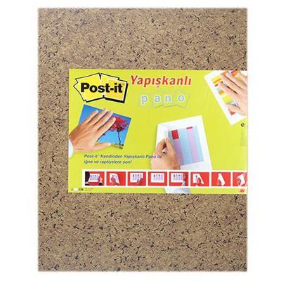 Post-It 558 Yapışkanlı Pano 46 X 58 Cm Kahverengi Not Kağıdı