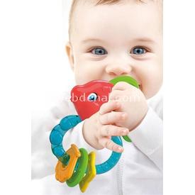 Clementoni Baby Diş Kaşıyıcı Balık Çıngırak Dişlik & Çıngırak