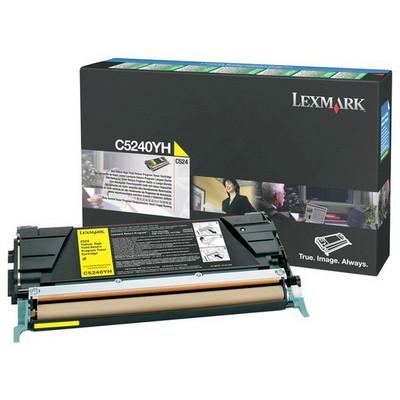 Lexmark C5240YH 5000 Sayfa Kapasiteli Sarı