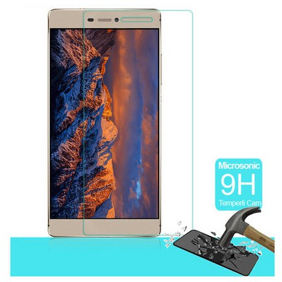 Microsonic Huawei Ascend P8 Temperli Cam Ekran Koruyucu Kırılmaz Film Ekran Koruyucu Film
