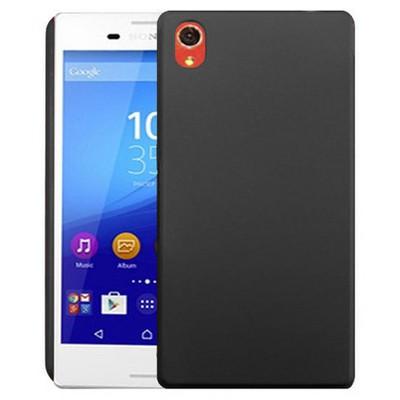 Microsonic Sony Xperia M4 Aqua Kılıf Premium Slim Siyah Cep Telefonu Kılıfı