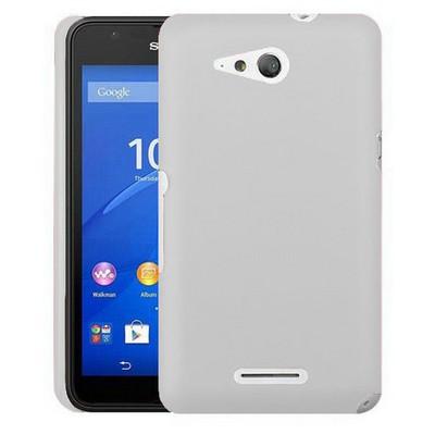 Microsonic Sony Xperia E4g 4.7'' Kılıf Premium Slim Beyaz Cep Telefonu Kılıfı