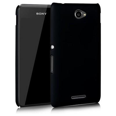 Microsonic Sony Xperia E4 5.0'' Kılıf Premium Slim Siyah Cep Telefonu Kılıfı