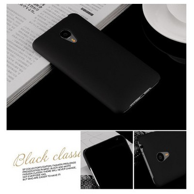 Microsonic Meizu Mx4 Kılıf Premium Slim Siyah Cep Telefonu Kılıfı