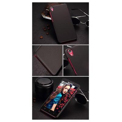 Microsonic Lenovo S850 Kılıf Premium Slim Siyah Cep Telefonu Kılıfı