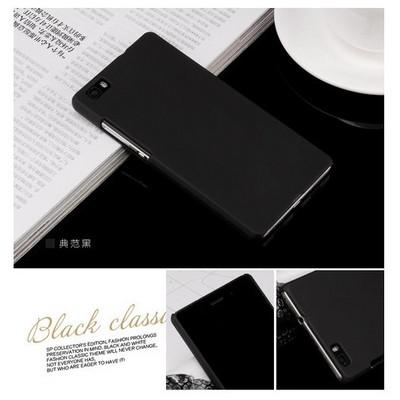 Microsonic Huawei Ascend P8 Kılıf Premium Slim Siyah Cep Telefonu Kılıfı