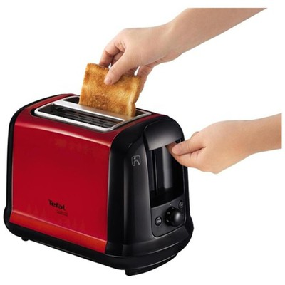 Tefal Subito Ekmek Kızartma Makinesi - Kırmızı