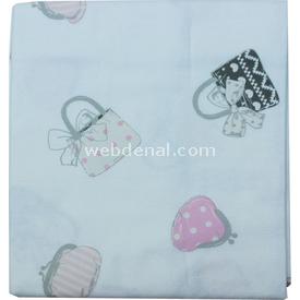 Bebetto Bags P227 Pazen Bebek Kundağı 85x85 Cm Pembe Kundak