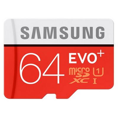 Samsung 64gb MicroSDXC EVO+ Hafıza Kartı - MB-MC64DA