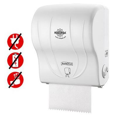 Rulopak Kağıt Havlu Makinesi Otomatik Kesmeli Model R-1350 Kağıt Havlu Dispenseri