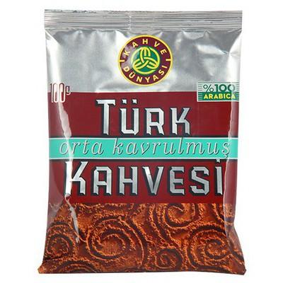 Kahve Dünyasi Türk si Orta Kavrulmuş 100 G Kahve