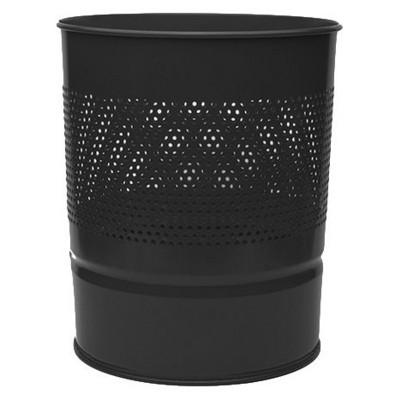 MAS Çöp Kovası Yarım Delikli Metal 10 L (852) Çöp Kovaları
