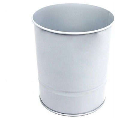 MAS Çöp Kovası Metal 10 L (850) Gri Çöp Kovaları