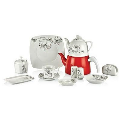Goldmaster Ktk-3903 Çaydanlıklı Kahvaltı Takımı