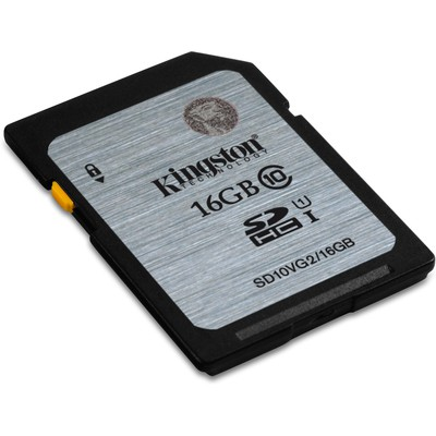 Kingston 16gb Sd Cl10 Uhs-ı Sd10vg2/16gb SDHC