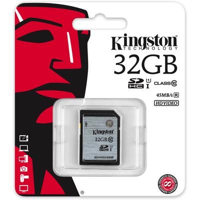 Kingston 32gb Sd Cl10 Uhs-ı Sd10vg2/32gb SDHC