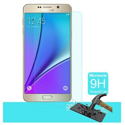 Microsonic Samsung Galaxy Note 5 Temperli Cam Ekran Koruyucu Kırılmaz Film Ekran Koruyucu Film