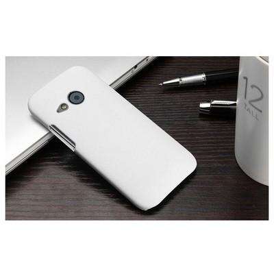 Microsonic Htc One Mini 2 (m8 Mini) Kılıf Premium Slim Beyaz Cep Telefonu Kılıfı